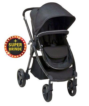Carrinho De Bebê Soul - Black - Burigotto