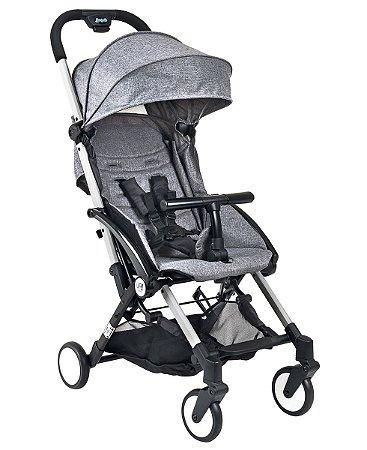 Carrinho De Bebê Up - Cinza - Burigotto