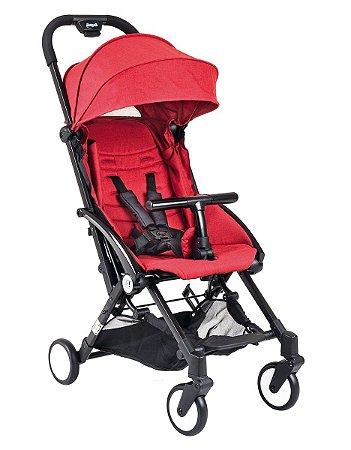 Carrinho De Bebê Up - Red Black - Burigotto