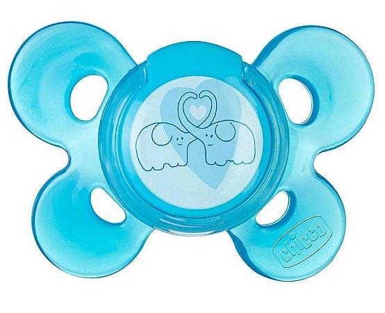 Chupeta Physio Comfort Tam 2 (6-12m) - Chicco Azul