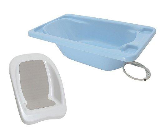 Conjunto Banheira Com Assento - Galzerano Azul