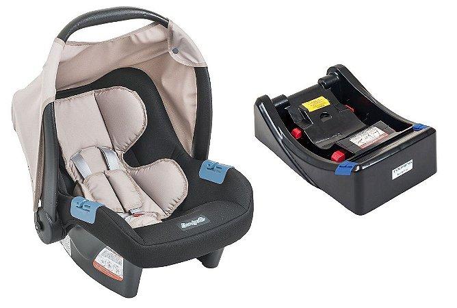 Bebê Conforto Touring Evolution Se Capuccino com Base - Burigotto