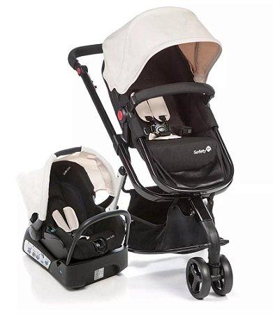 Carrinho de Bebê Travel System Mobi - Plain Beige - Safety 1st