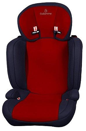 Cadeira para Carro Nano II (até 36 kg) - Vermelho - Galzerano