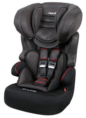 Cadeira para Carro Nania Beline Luxe (até 36 kg) - Noir - Team Tex