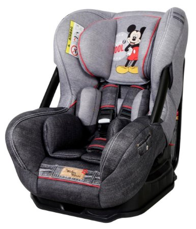 Cadeira Para Auto Disney Eris Denim - Mickey Mouse - Teamtex