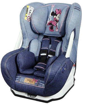 Cadeira Para Auto Disney Eris Denim Minnie Mouse - Team Tex