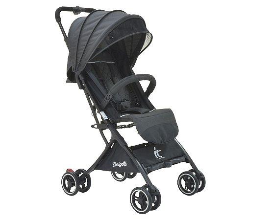 Carrinho de Bebê It (até 15 kg) - Preto - Burigotto