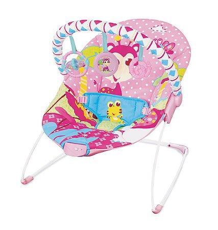 Cadeira De Descanso Vibratória Rosa Girafa - Mastela