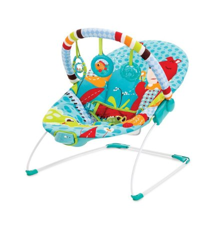 Cadeira de Descanso Vibratória (até 9 kg) - Urso - Mastela