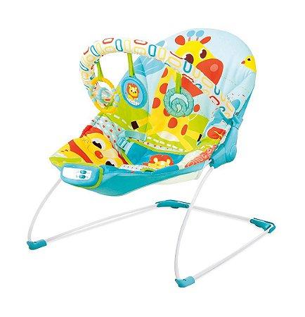 Cadeira de Descanso Vibratória e Musical (até 9 kg) - Girafa - Mastela