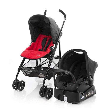 Carrinho de Bebê Travel System Trend TS com Base (até 15 kg) - Vermelho - Safety 1st