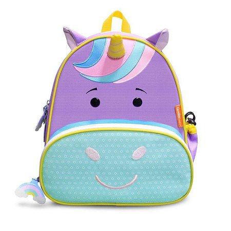 Mochila Infantil Let's GO! - Unicórnio - Comtac Kids
