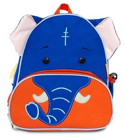 Mochila Infantil Let's GO! - Elefante - Comtac Kids