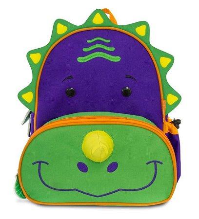 Mochila Infantil Let's GO! - Dinossauro - Comtac Kids