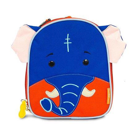 Lancheira Térmica Infantil Lets Go - Elefante - Comtac Kids