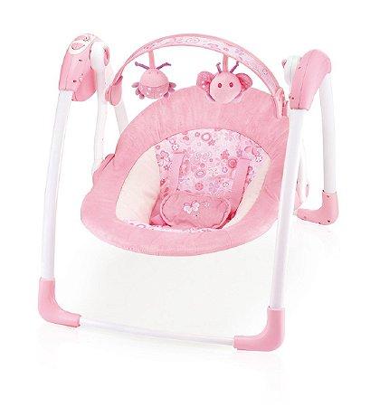Cadeira de Descanso Automática com Timer (até 11 kg) - Rosa - Mastela