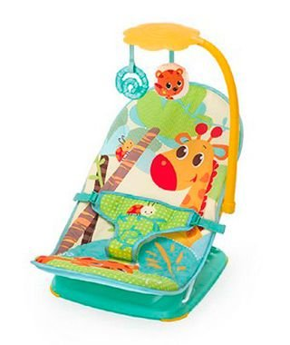 Cadeira de Descanso Vibratória e Musical (até 11,2 kg) - Girafa - Mastela