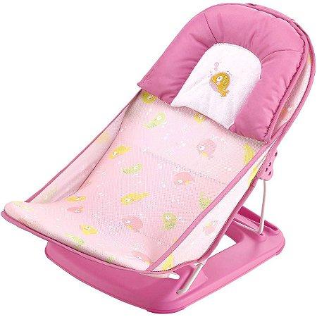 Assento Para Banheira Rosa Peixe - Mastela