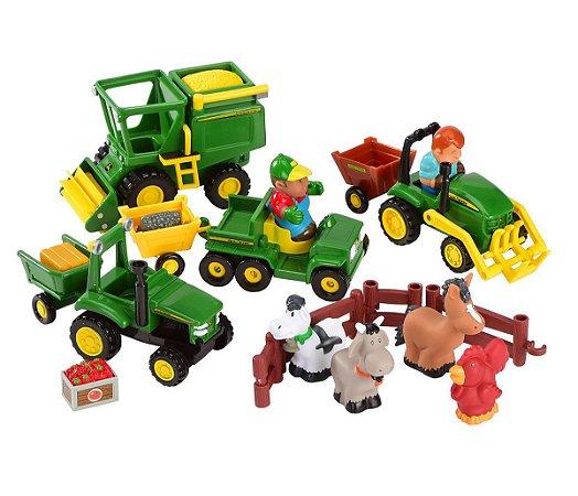 Diversão na Fazenda com Animais e Tratores John Deere (+12M) - Peg-Pérego
