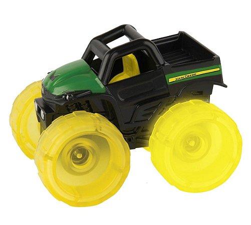 Mini Trator Monster Treads Relâmpago John Deere - Peg-Pérego