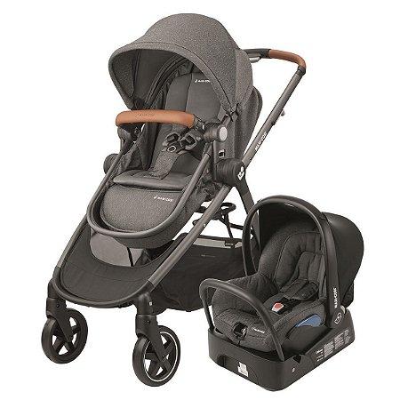 Carrinho de Bebê Travel System Anna com Base (até 15 kg) - Sparkling Grey - Maxi.Cosi