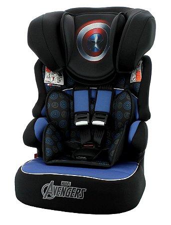 Cadeira para Auto Beline Luxe 36kg Capitão America - Marvel