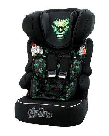 Cadeira para Auto Beline Luxe (até 36 kg) - Hulk - Marvel - Team Tex