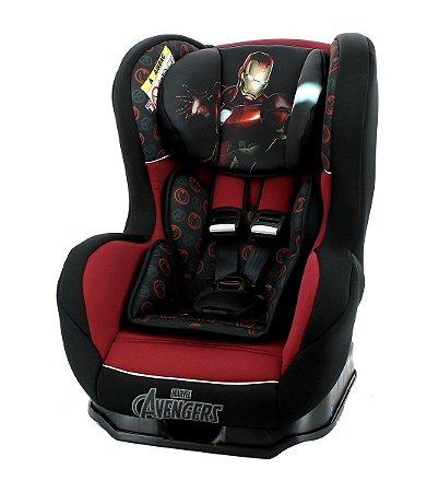 Cadeira para Carro Primo (até 25 kg) - Homem de Ferro - Marvel - Team Tex