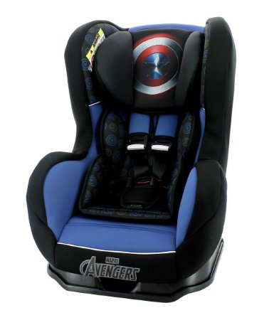Cadeira para Auto Primo (até 25 kg) - Capitão América - Marvel - Team Tex