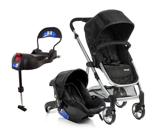 Carrinho de Bebê Travel System Epic Lite Trio (até 15 kg) - Onyx - Infanti