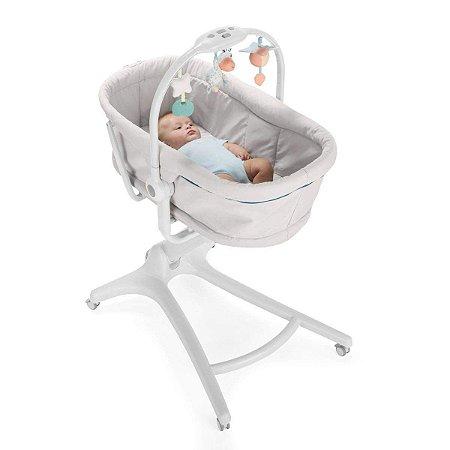 Cadeira-Berço Baby Hug 4 In 1 (até 9 kg) - Glacial - Chicco