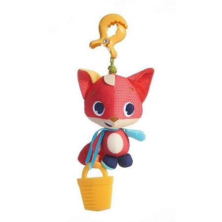 Brinquedo com Chocalho e Mordedor (+0M) - Raposa Christopher Jitter - Tiny Love