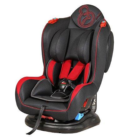Cadeira para Carro Transbaby II (até 25 kg) - Grafite e Vermelho - Galzerano
