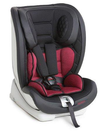 Cadeira para Auto Techno Fix - Black Red - Dzieco
