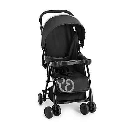 Carrinho de Bebê Nizi (até 15 kg) - Preto - Galzerano