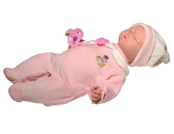 Boneca Bebê Carinhas (+3 anos) - Novabrink