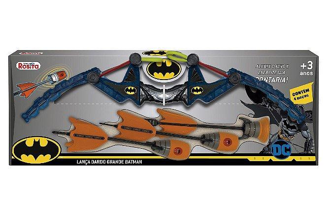Lança-Dardos Grande (+3 anos) - Batman - DC - Brinquedos Rosita