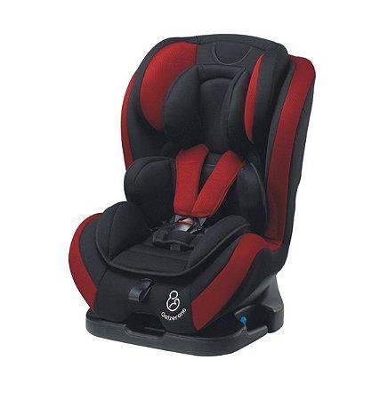 Cadeira para Carro Long Life (até 36 kg) - Preto e Vinho - Galzerano