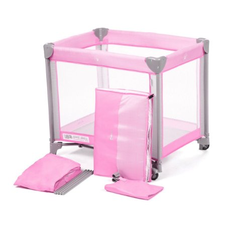 Berço Portátil Mini Play Pop (até 15 kg) - Pink -Safety 1st