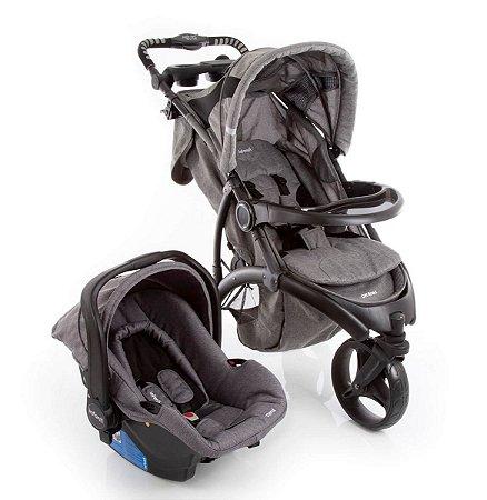 Carrinho de Bebê Travel System Off Road - Grey - Infanti