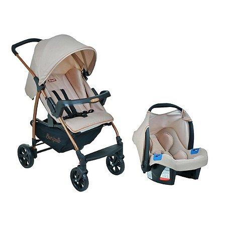 Carrinho de Bebê Travel System Ecco (até 15 kg) - Mon Amour - Burigotto