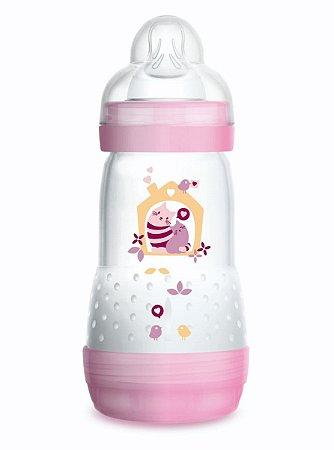 Mamadeira  Easy Start  260 ml (2+ Meses) Rosa - MAM