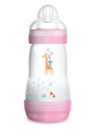 Mamadeira  Easy Start  260 ml (2+ Meses) Rosa - MAM