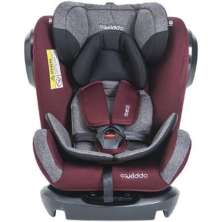 Cadeira para Auto Stretch Melange (até 36 kg) - Vinho - Kiddo