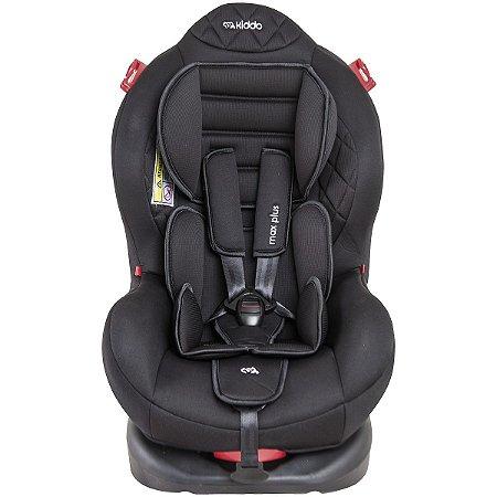 Cadeira para Auto Max Plus (até 25 kg) - Preto - Kiddo