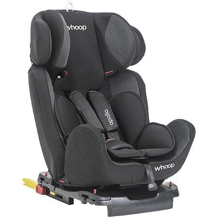 Cadeira para Auto Apollo Preto (0 a 36 Kg) Whoop Kiddo