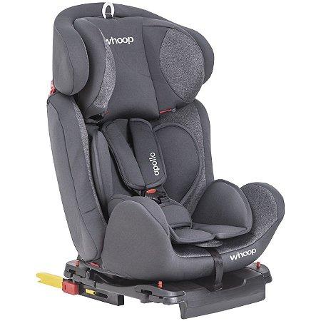 Cadeira para Auto Apollo Grafite (0 a 36 Kg) Whoop Kiddo