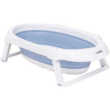 Banheira Portátil Jelly (até 30 kg) - Azul - Kiddo