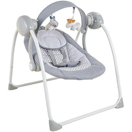 Cadeira de Descanso Mimo (até 9 kg) - Cinza - Kiddo